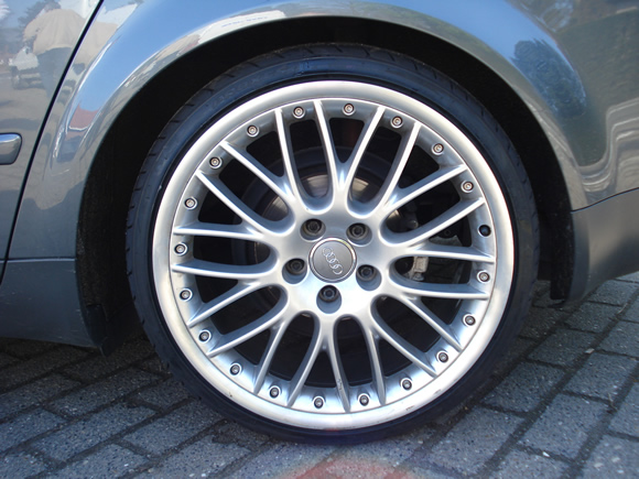 19 Quot Audi Bbs Rs Reps With Tyres