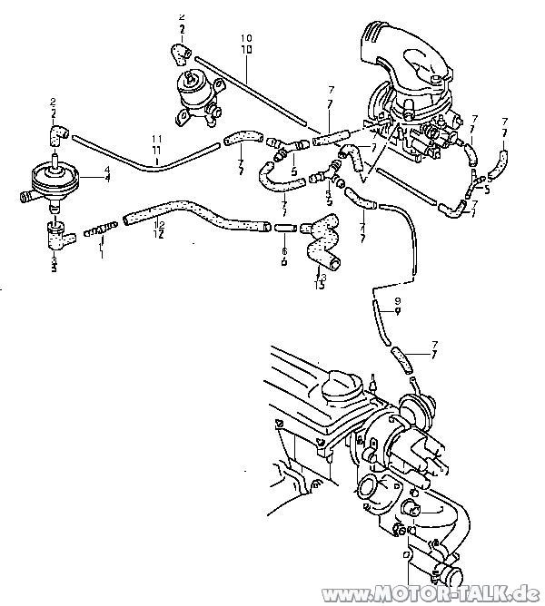 Unterdrucksystem NZ : NZ Motor läuft unruhig am Anfang