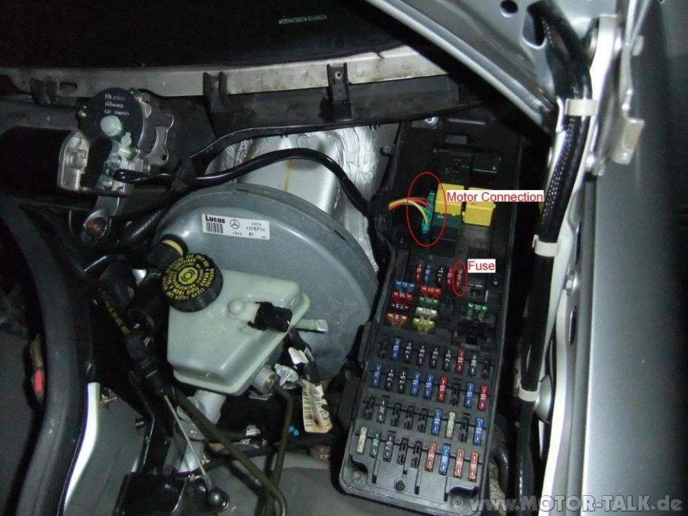 1995 E320 Fuse Box Layout Sicherungskasten Blinker Srs C Klasse W202 Mercedes C