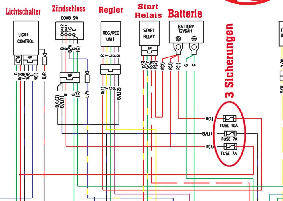 kymco agility 50 4t wiring diagram glacial deposits kymco-agility-rs-schaltplan-ausschnitt : elektrik motorroller #208230841