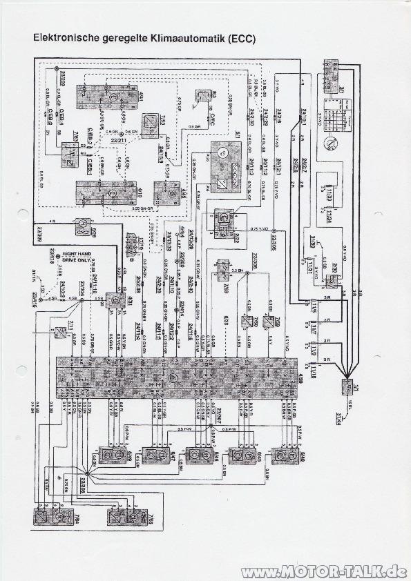 File0001 : Schaltplan Klima : Volvo 850, S70, V70/XC70 I