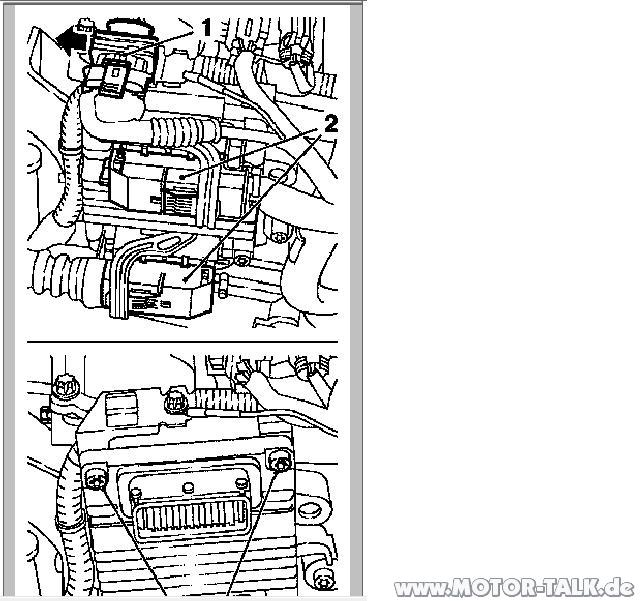 Cng-sg : Motorsteuergerät : Opel Zafira A & Sintra