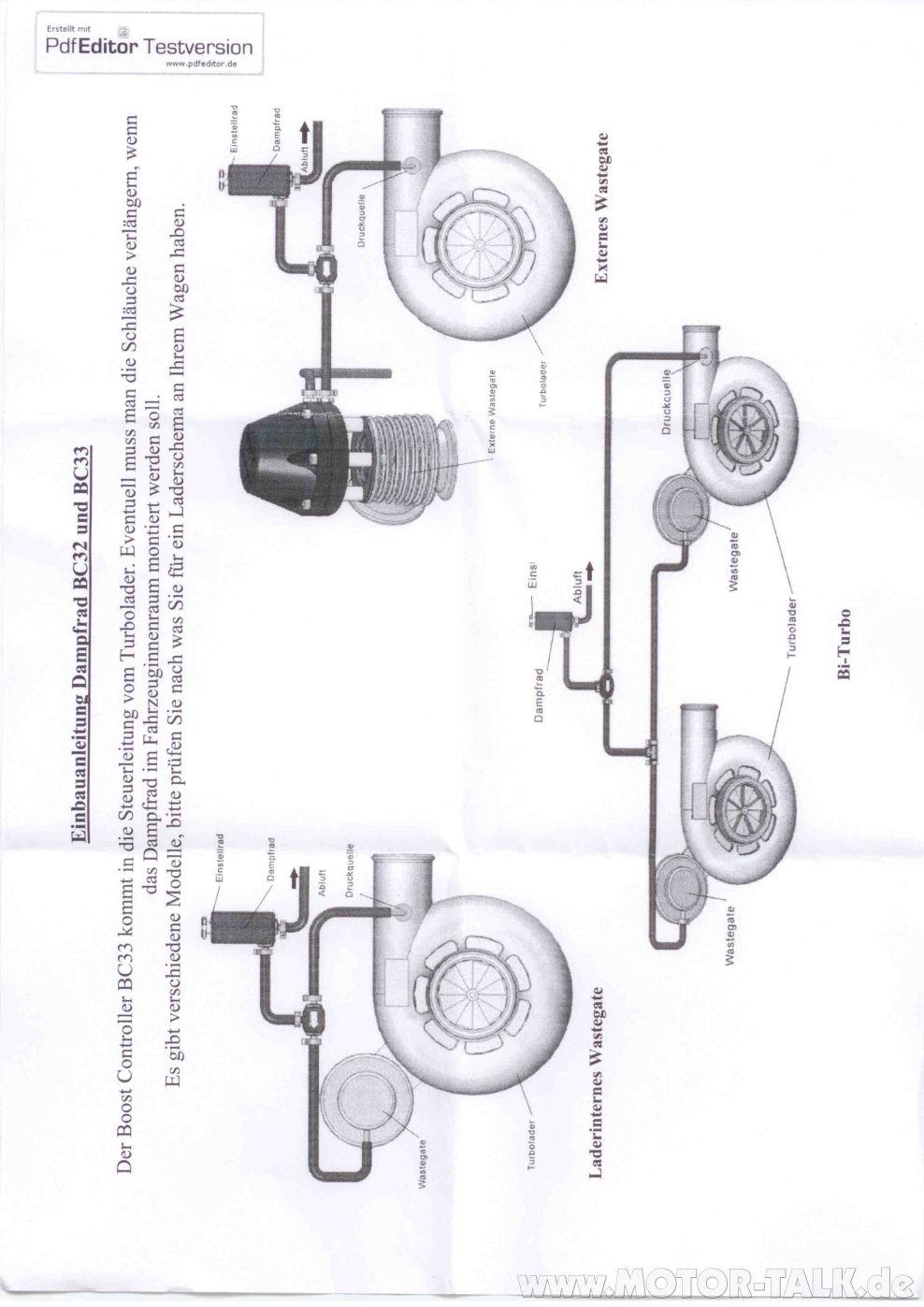 Boost-controller2 : Boost Controller, Dampfrad