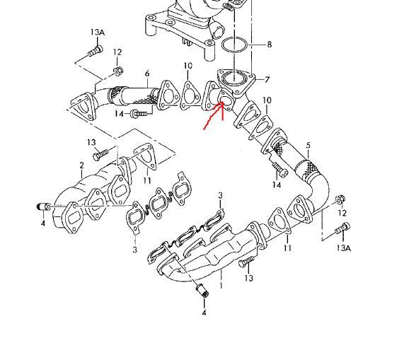 Location : Wie Turbolader ausbauen 3.0 TDI? : Audi A6 4F