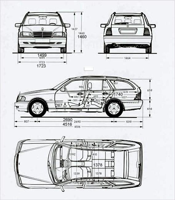 202-daten : Mercedes C-Klasse W202 C 180 von AchimAM