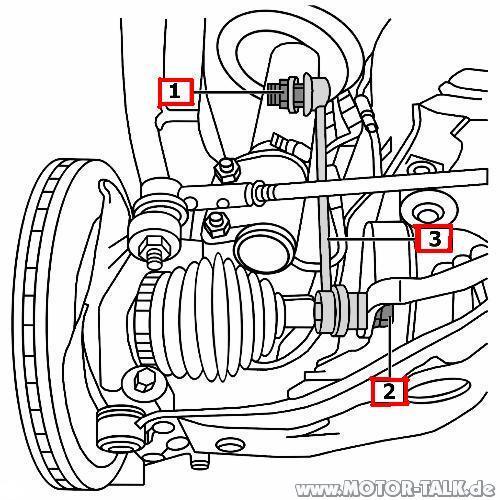 Koppelstange : Poltergeräusche von der VA : Opel Omega