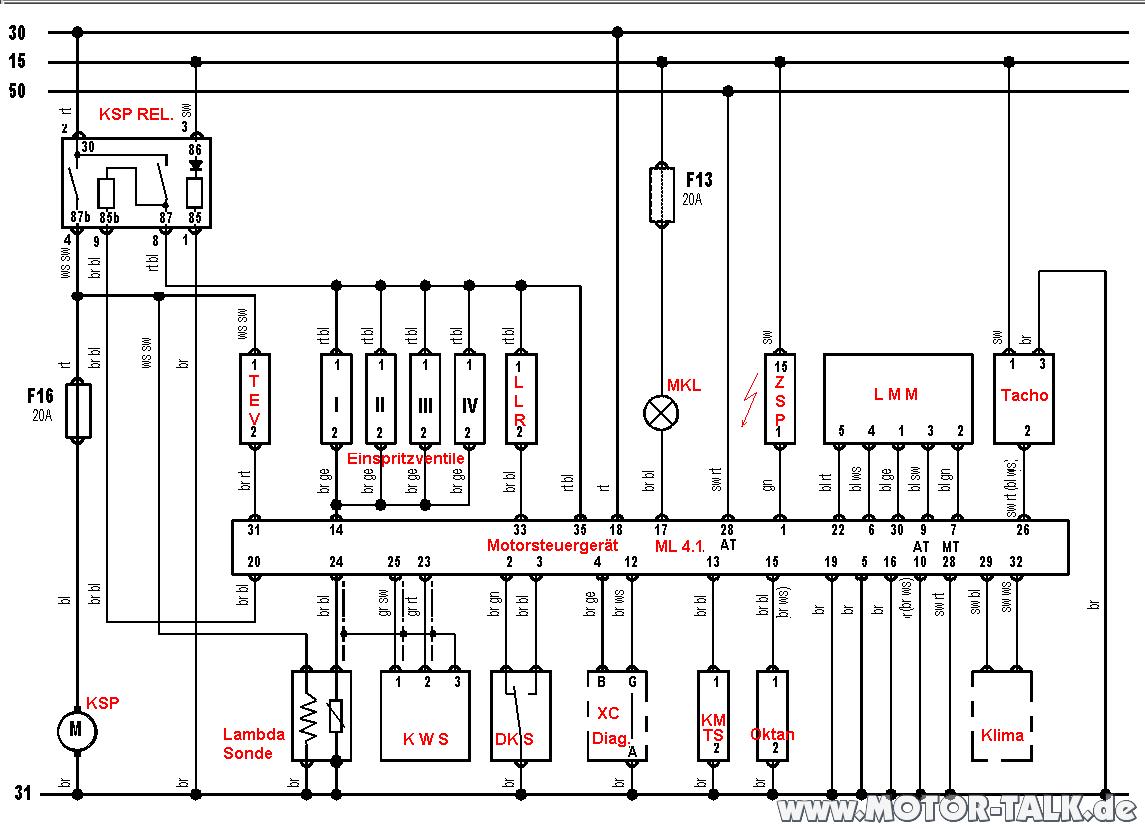 Motronic-ml4-1-kurt-richter : Senator b 3l 156ps Startet