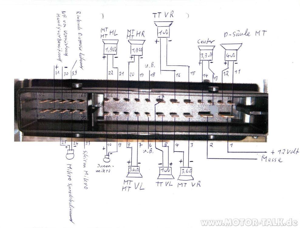 Steckerbelegung-am-bose-amp1 : Pinbelegung von der Bose