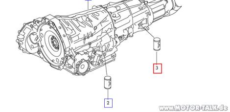 Welches Getriebeöl kommt in S tronic rein? : Audi A6 4G