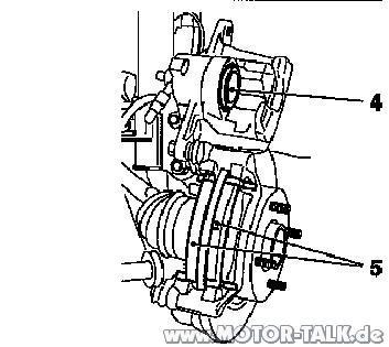 Belagwechsel2 : Agila A-1,3D: Bremsbeläge vorne wechseln