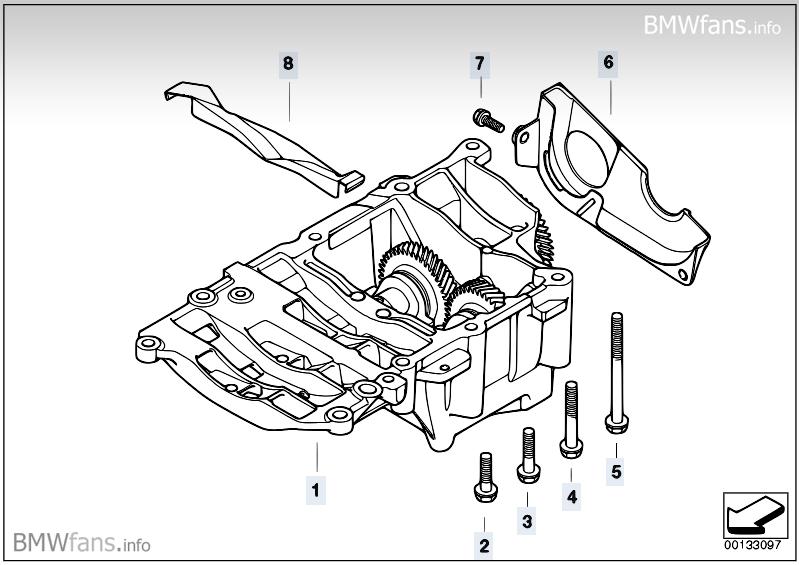 Mtmzmdk3x3a : BMW 320d E90 Ausgleichswelle ( Ölpumpe
