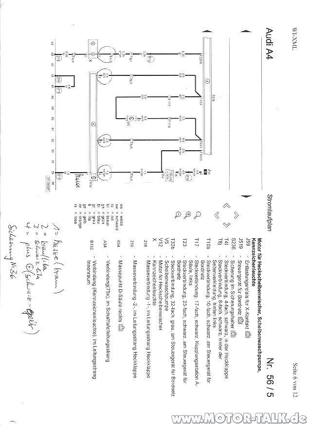 AUDI A4 STROMLAUFPLAN PDF