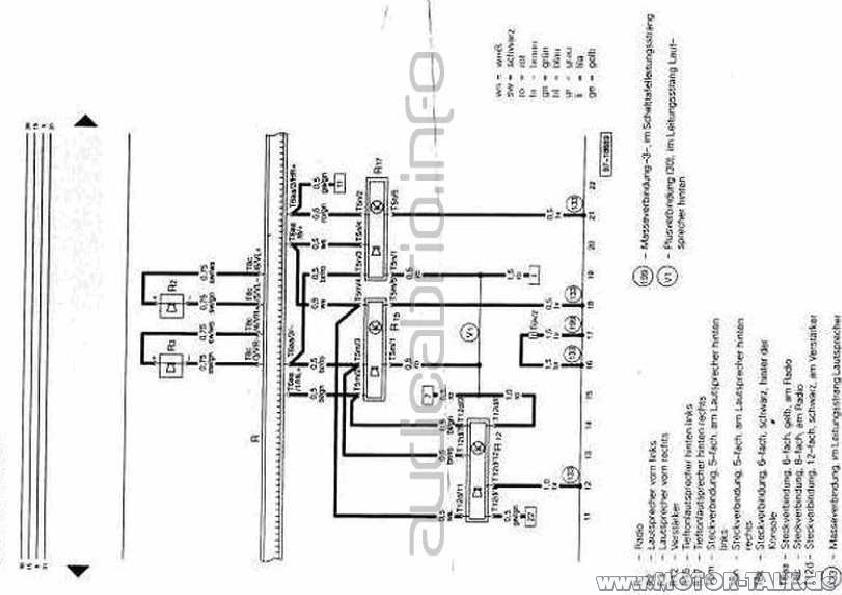 Audi-radio-schaltplan-s1-delta : Kabelbaum Radio : Audi A6