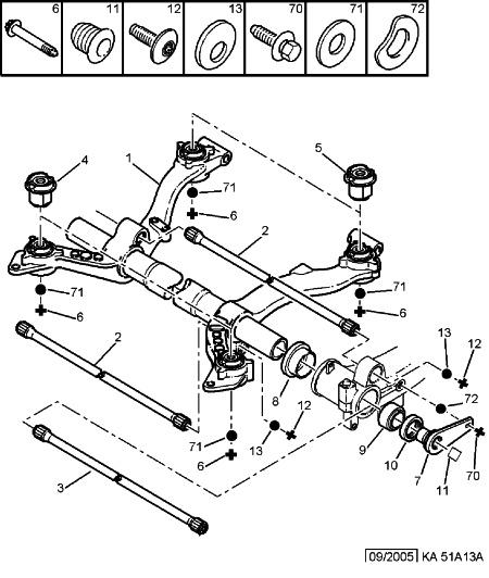 Ka51a13a : Motor Ruckelt Hinterrad schleift im Radkasten