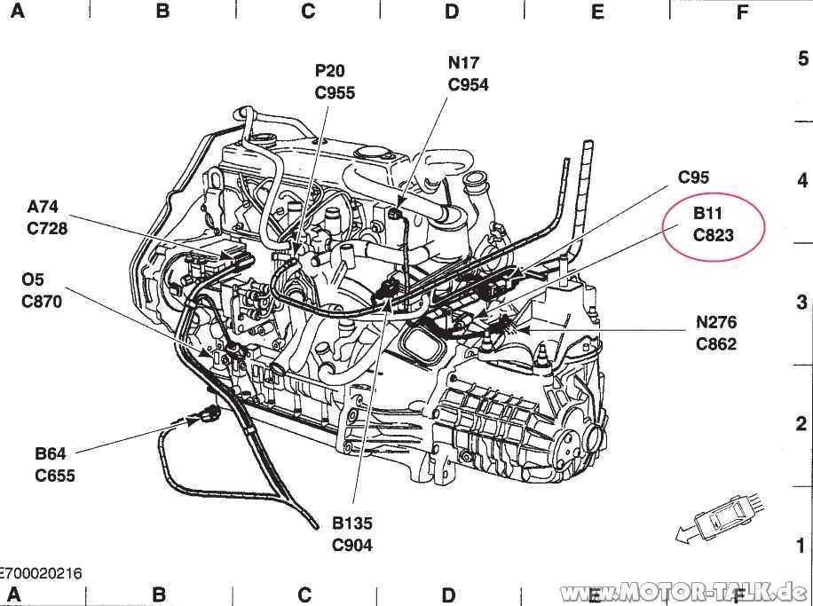 B11-c823-n1 : Geschwindigkeitssensor wechseln? : Ford