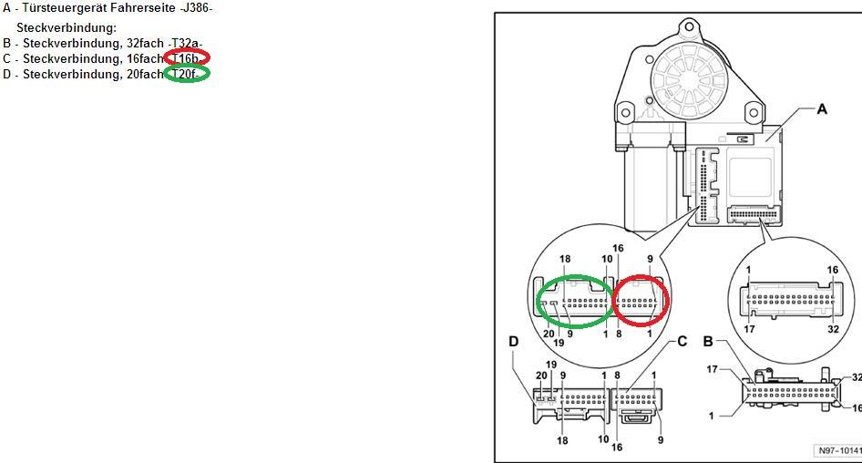 Tuersteuergeraet : Frage zum Türsteuergerät : Audi A3 8P