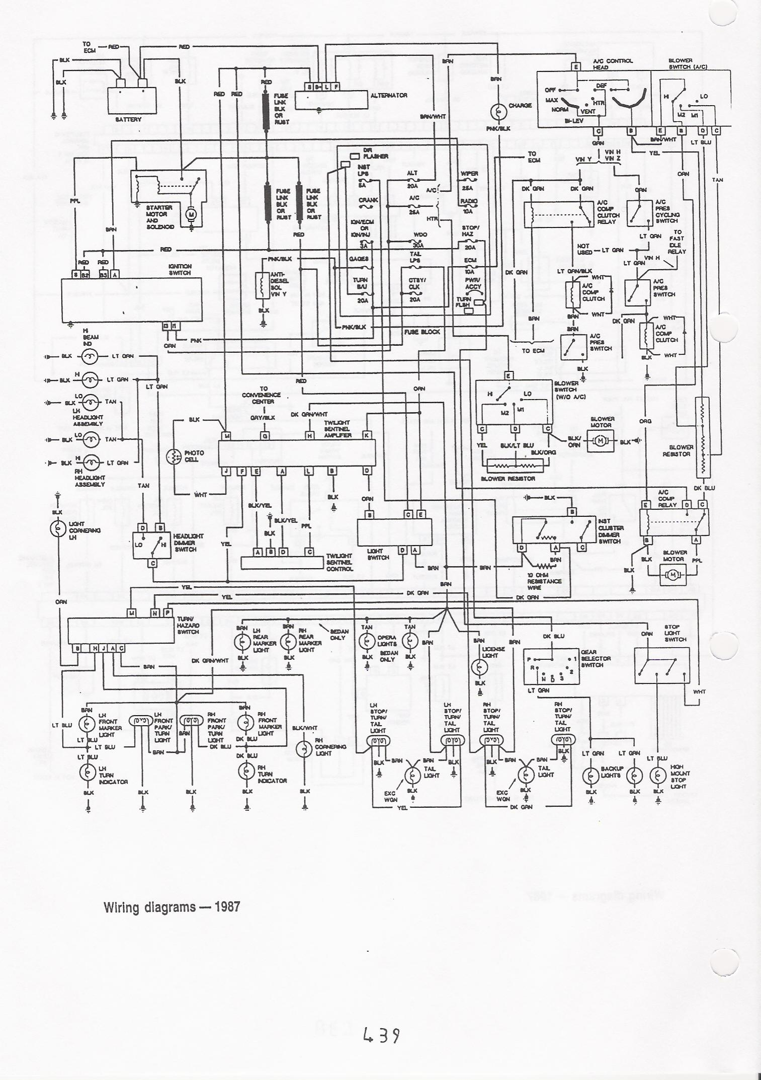 Caprice Fuse Box Diagram