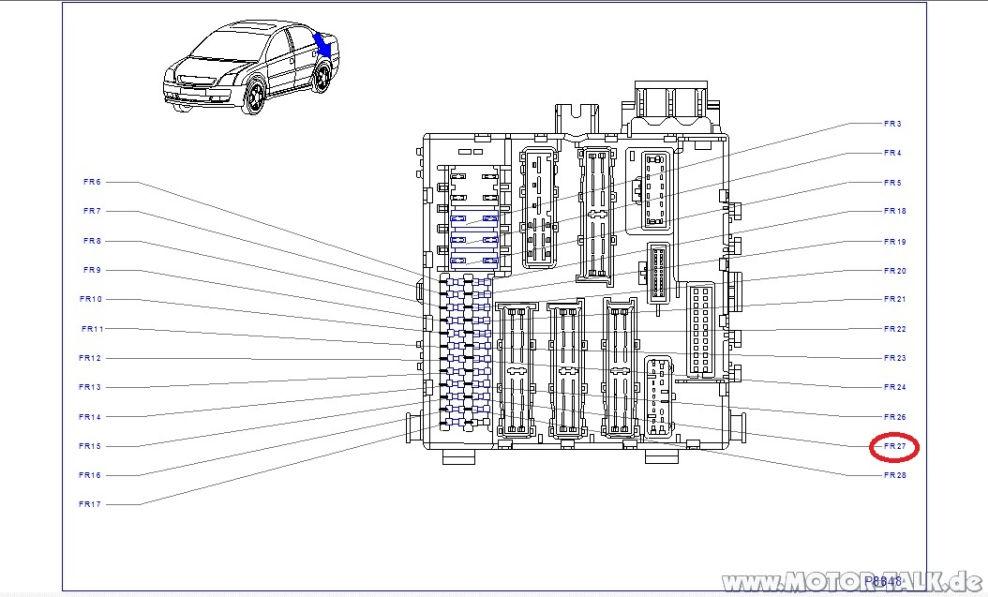 Sicherung-spiegel : Ambientebeleuchtung + Abblendender