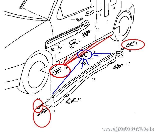 Bild2 : Original Seat Ibiza 6K / GP01 Seitenschweller