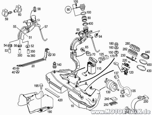 Tank : Pfeifgeräusch im Heck : Mercedes C-Klasse W203
