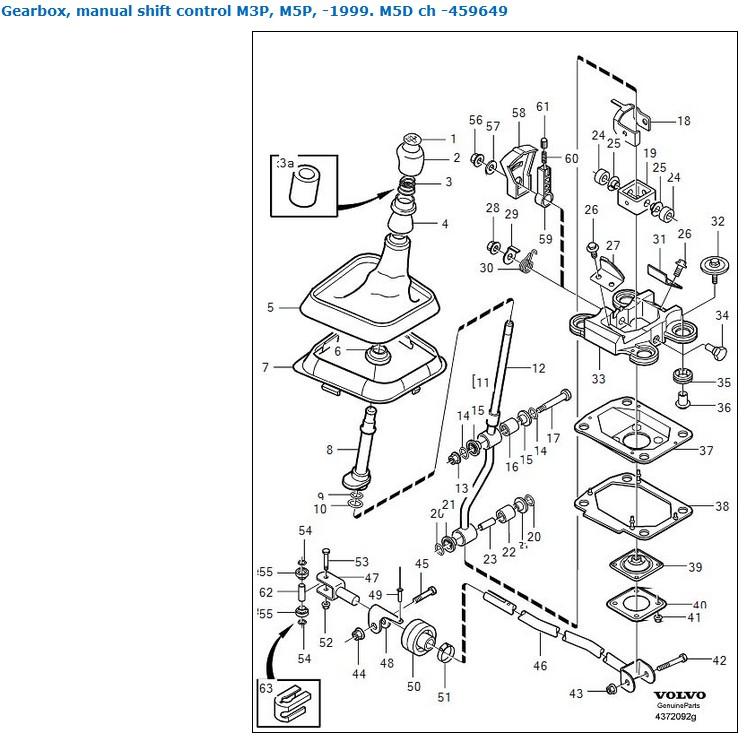 V40-schaltgestaenge-und-kulisse-bis-99 : Schaltbuchsen