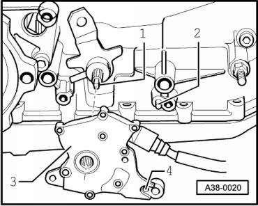 A38-0020 : Fahrstufensensor F125 : Audi A8 D2 : #203094813