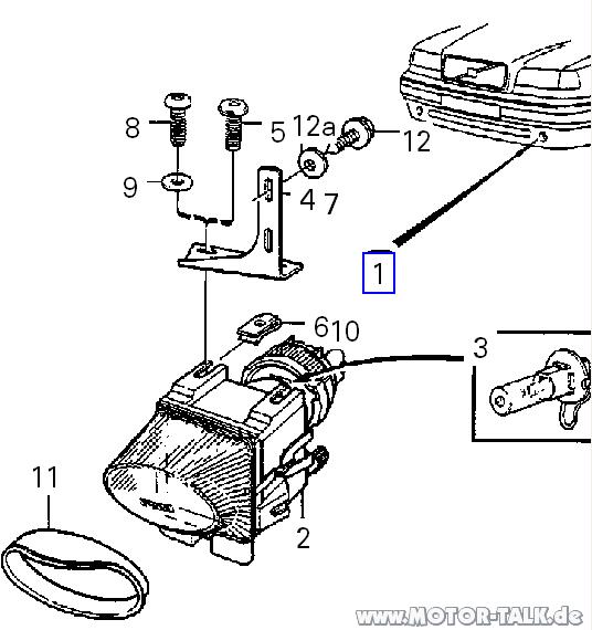 Explosionszeichnung NSW, Fahrerseite : Hilfe, wie