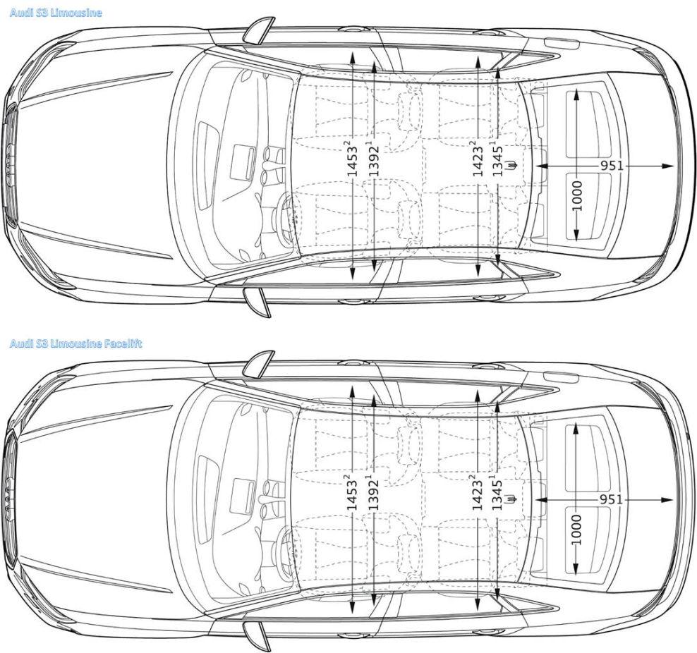 Abmessungen-s3-limousine-vfl-fl-3 : Facelift (A3, S3, RS3