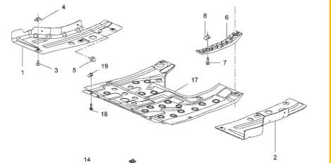 Unterbodenschutz : Opel Insignia A