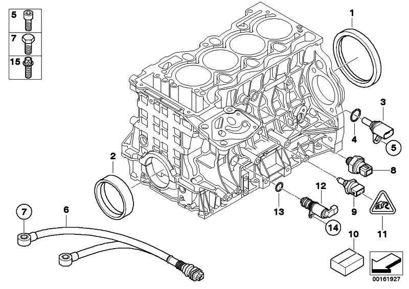 161927-4 : Bmw 118i n43 öldruckschalter : BMW 1er E81, E82