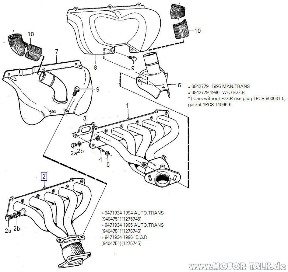 Abgaskruemmer-2-5-20v : Volvo 850 Krümmer: Billig oder