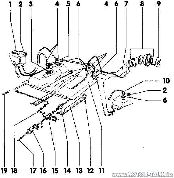 Bullitank : Tank reinigen : VW T1, T2 & T3 : #203136396