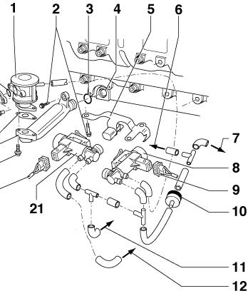 Unterdruck6psnq : Passat 3B Umbau von 1.6 auf 2.3 V5 : VW