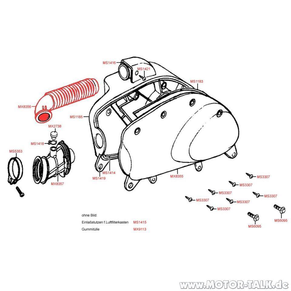 Yager-50-f14-t : Kymco Spacer 50 zieht zu viel Luft