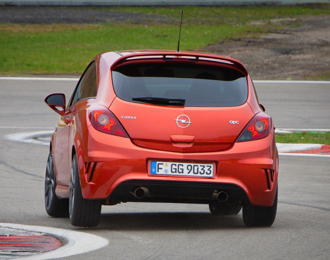 Opel Corsa OPC Nrburgring Edition lockt mit 210 PS