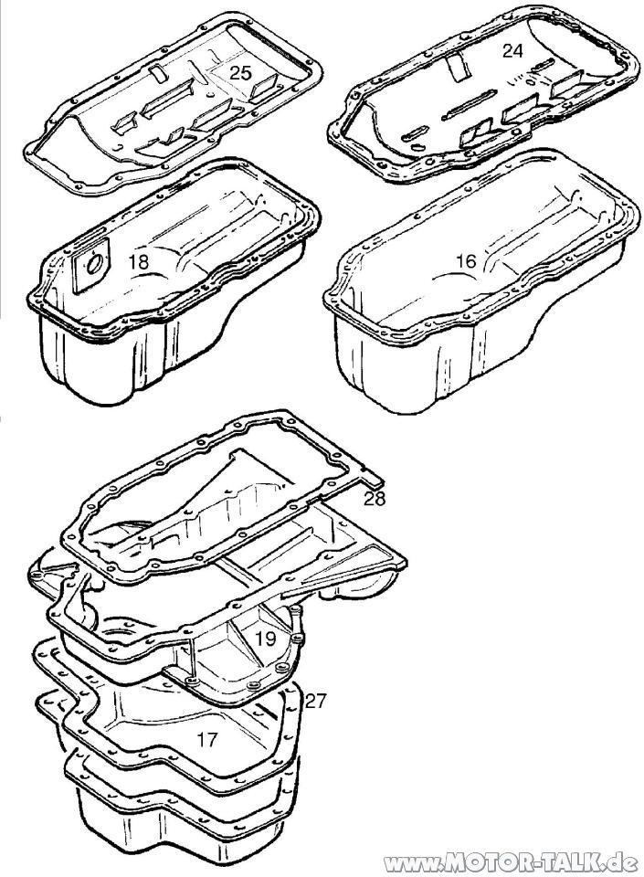 Oelwannen-alle-typen-x20xev : Ölpumpe X20XEV : Opel Omega