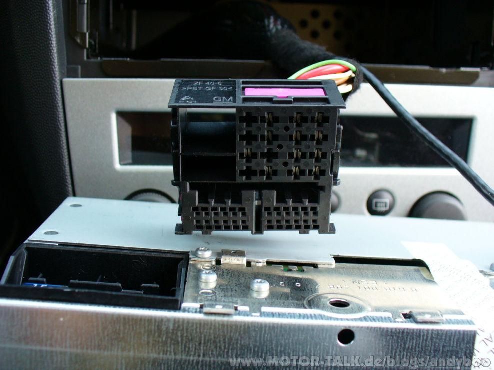 vauxhall vectra stereo wiring diagram bt 50 radio quadlock stecker corsa c : cdc 40 opera im nachrüsten andyboo #203076590