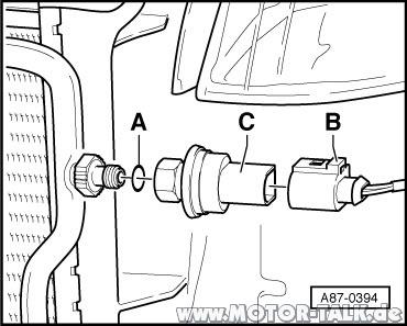 G65 : Demontage Stoßstange Vorne mit Xenon : Audi A4 B6