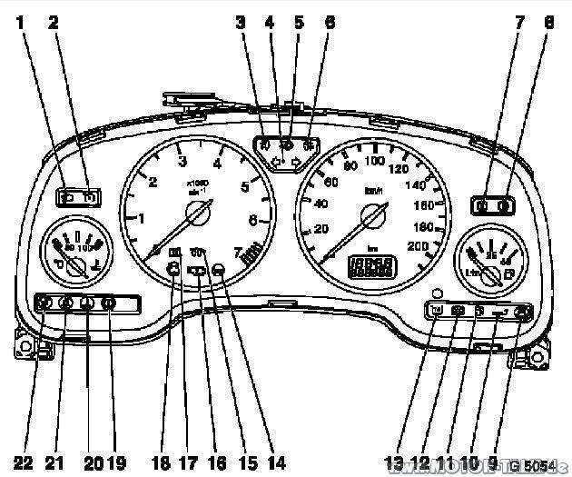 Tachosymbole-9556 : Motorkühlung : Opel Astra G & Coupé