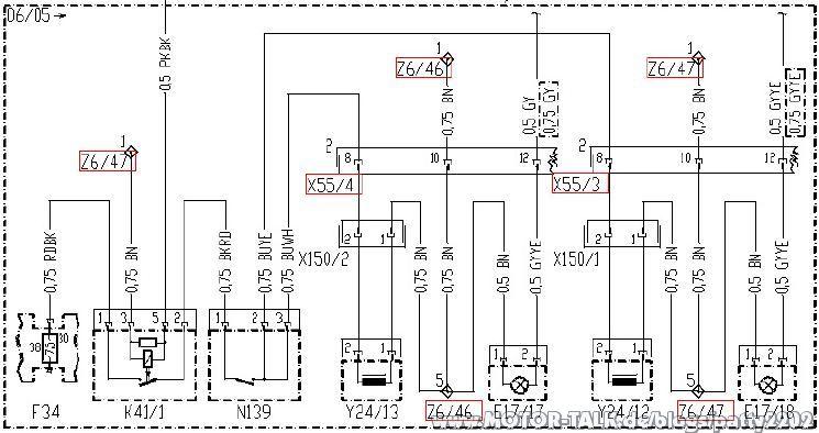 Nachrüstung Fußraumbeleuchtung im W211 Classic : Patty2202