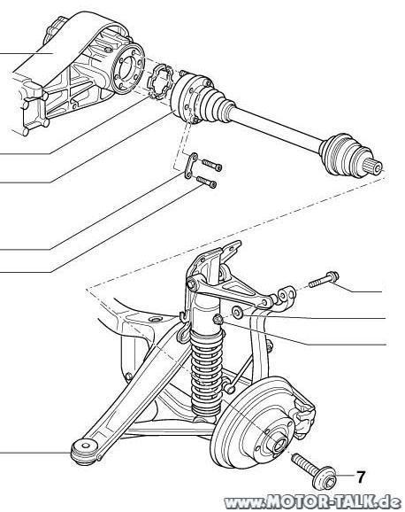 Audi-a4-b5-quattro-achse-hinten-1 : Quattro avant domlager