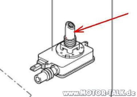 Reparatur Antennenfuß möglich? : Audi A4 B5