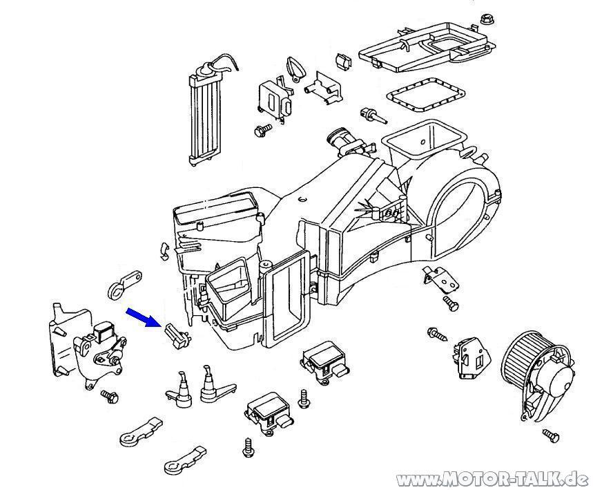 Audi-a4-8d-klima-geber-fuer-ausstroemtemperatur-fussraum