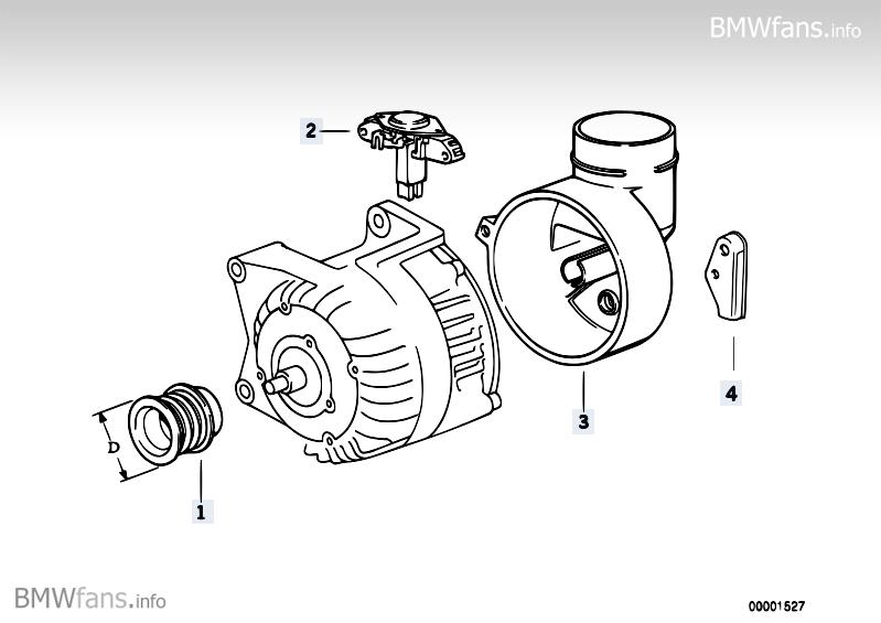 Generator : Lichtmaschine 520i 24V Tauschen... : BMW 5er