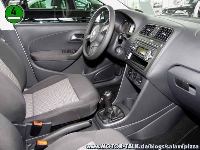 Innenausstattungenbersicht VW Polo  Salamipizza