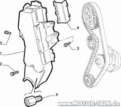 Fiat-punto-176-zahnriemen : Ventilschaftdichtungwechsel