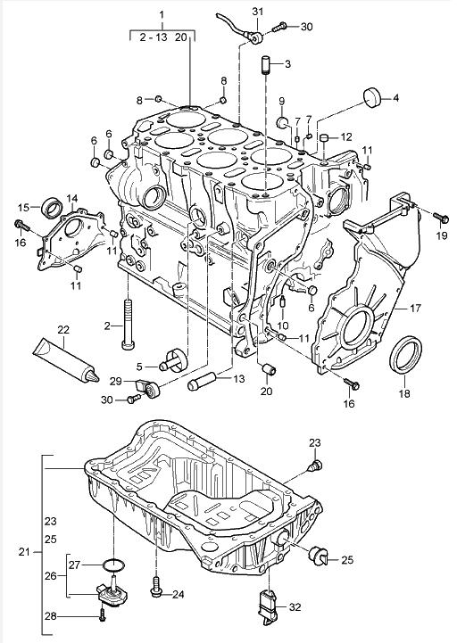 Unbenannt : Audi S3 1.8T Motorumbau auf 3.2 quattro mit