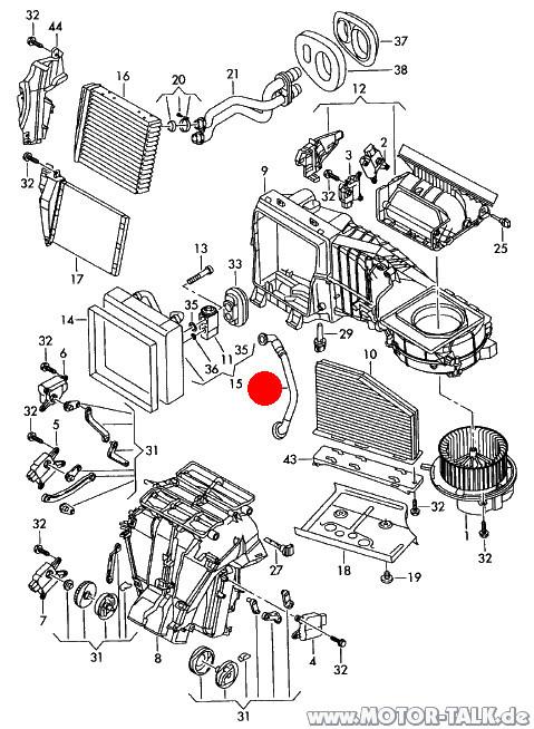 Image2 : Wo sind die Kondensatabläufe der Klimaanlage : VW