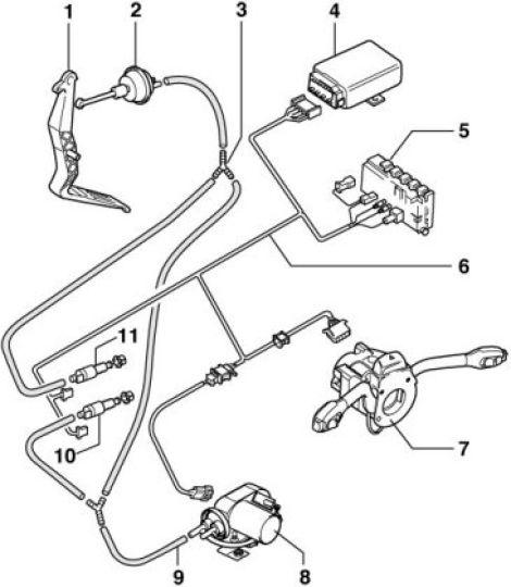 Orginal golf 3 gra Tempomat für beziner : Biete Volkswagen