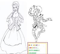 """Colombina ed Arlecchino """"filastrocca"""" - ALFABETO DEL CUORE"""